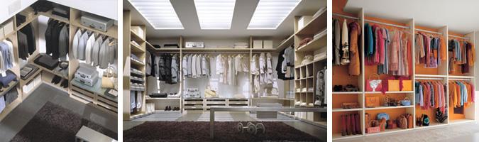 cabine armadio molto spaziose
