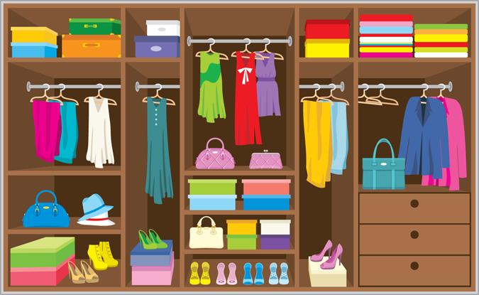 Organizzazione armadio