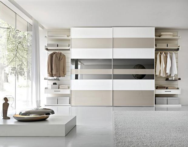 Come scegliere l 39 armadio adatto alla camera da letto - Camere da letto moderne bianche ...