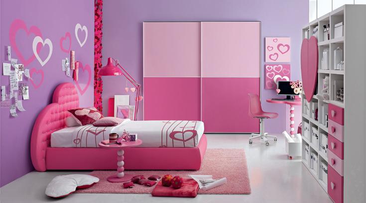 Cameretta Lilla E Viola : Come scegliere l armadio per la cameretta dei ragazzi
