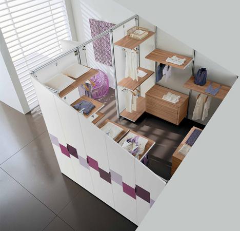 Come realizzare una cabina armadio - Organizzare camera da letto ...