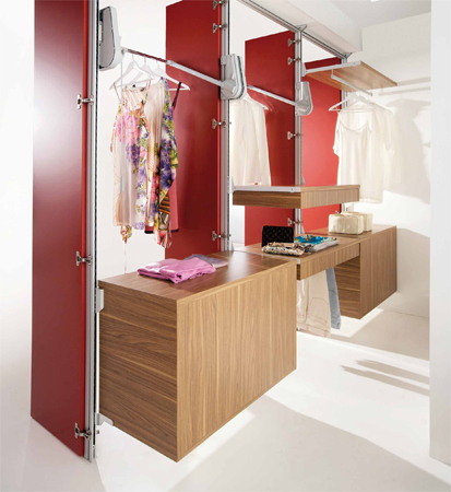 Come realizzare una cabina armadio for Costo per costruire una casa di 4 camere da letto