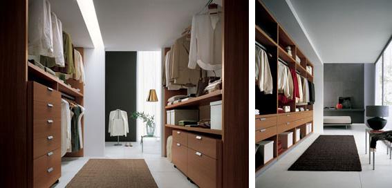 Come scegliere la dimensione giusta per la cabina armadio - Cabina armadio in camera da letto piccola ...