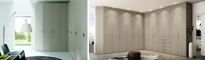 Come scegliere un armadio ad angolo - Camera da letto con cabina armadio ad angolo ...
