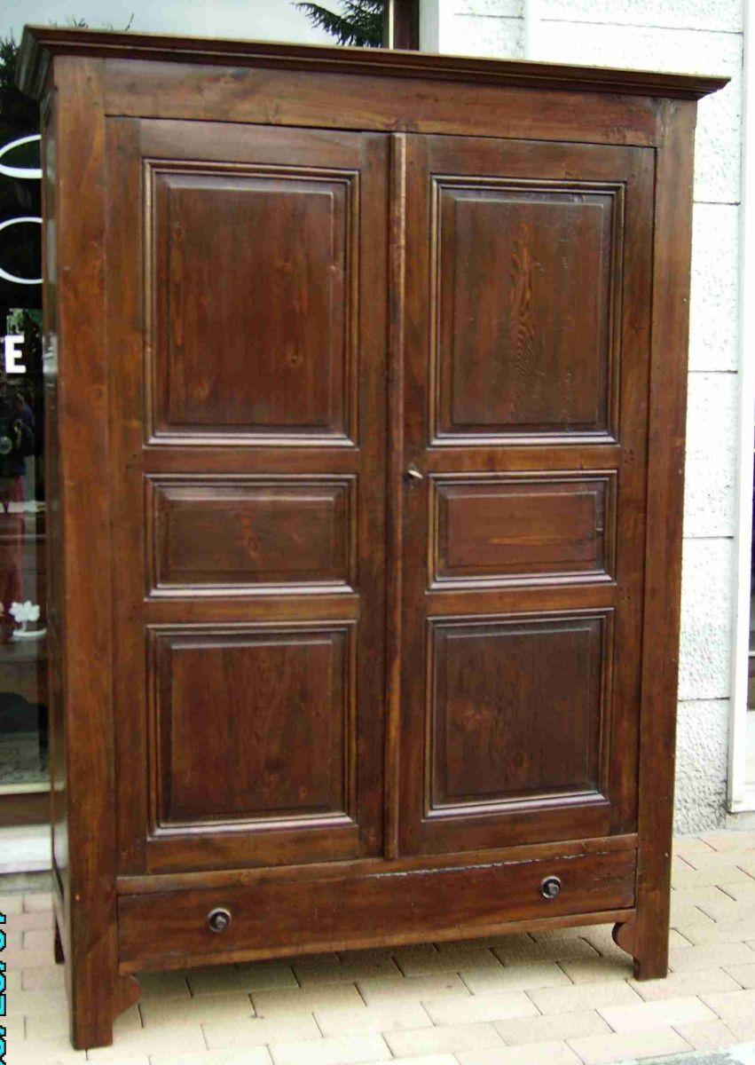 Come scegliere un armadio antico e d antiquariato - Camera da letto antiquariato ...