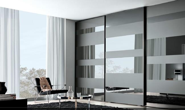 Gli armadi lineari come scegliere tra le varie tipologie - Ante armadio a muro ikea ...