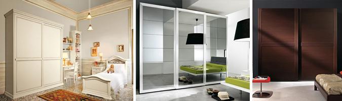Scegliere l'armadio in base allo stile e alla tipologia
